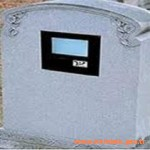 LCD Ekranlı Mezar