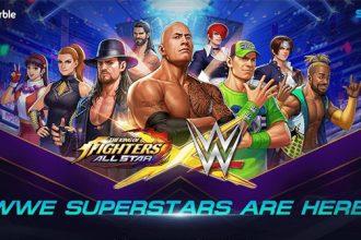 WWE 2K14'ün kapak resminde kim var?