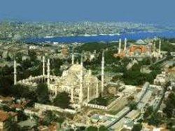 Google Earth de 3D Sultanahmet