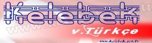 Kelebek Türkçe Logo