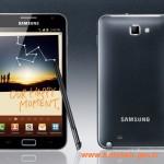 Samsung Galaxy Note ve Tablet birlikte